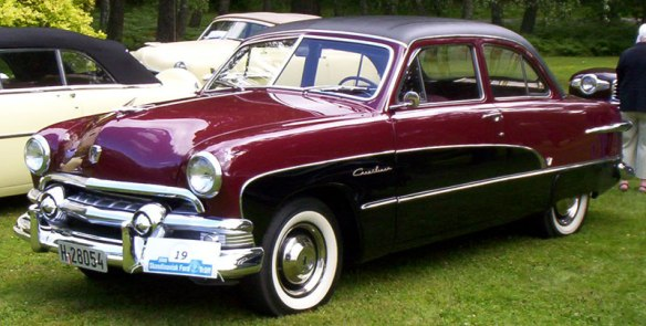 Perhaps it was in this 1951 Ford that Ford Foundation officials decided to donate a large chunk of money to the arts.