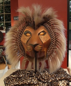 Costume Piece from The Lion King.