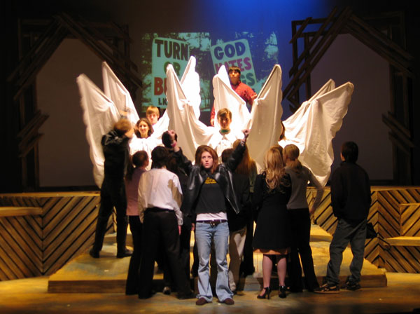 the laramie project play The laramie project online community is a social network.